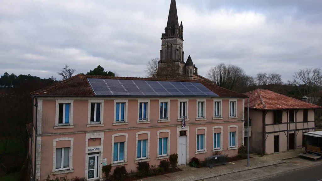 installation photovoltaïque à Laluque