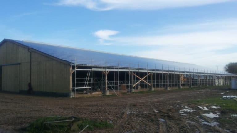 installation photovoltaïque aire sur Adour