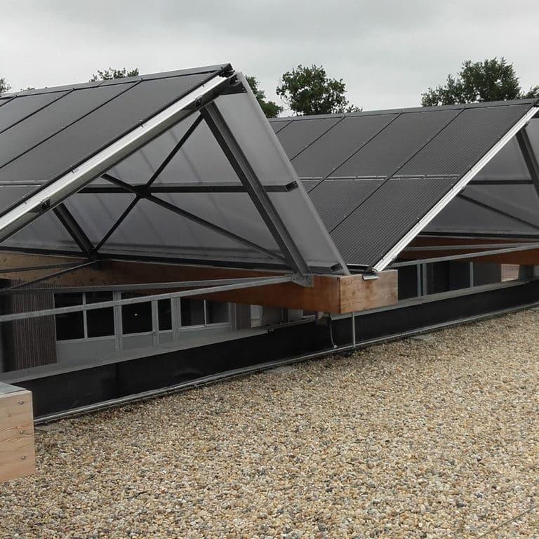 Bureau étude photovoltaïque structure du bâtiment