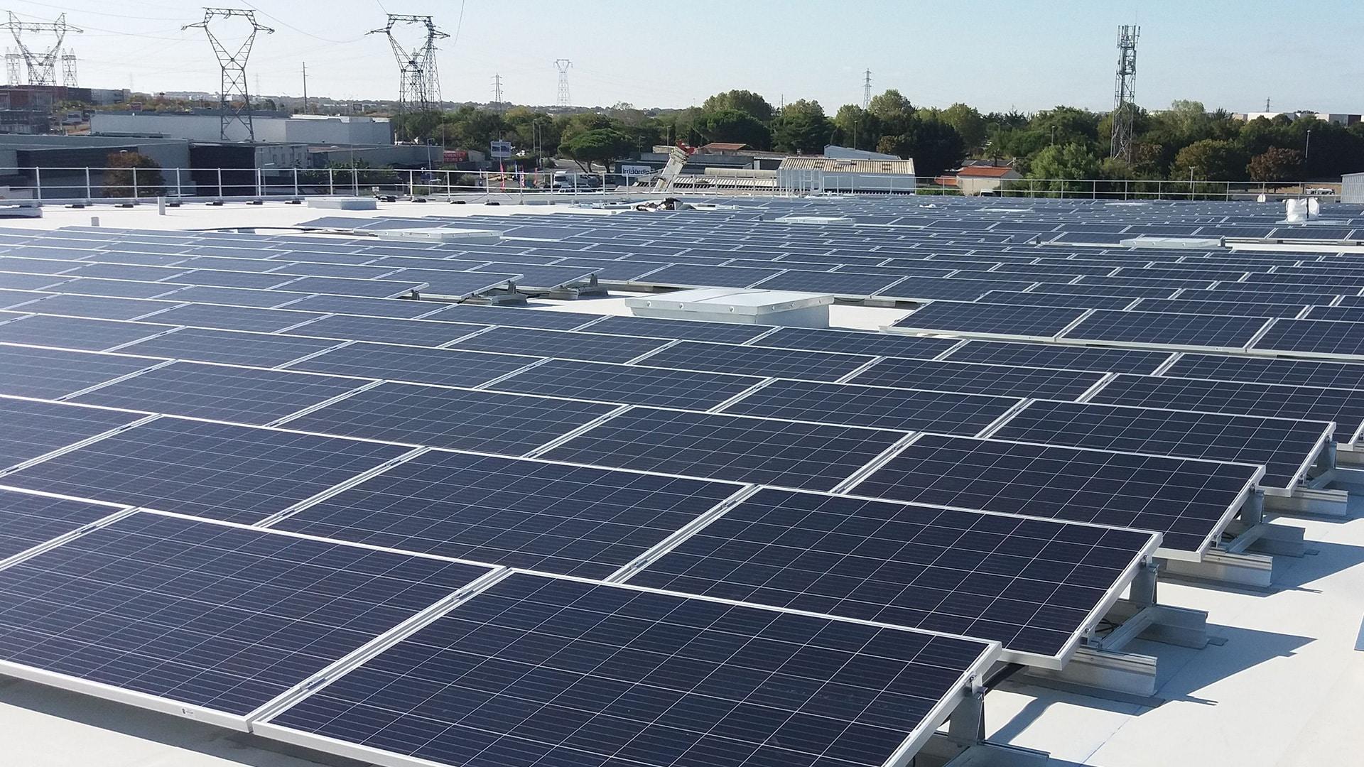 Bureau étude photovoltaïque bâtiment professionnels